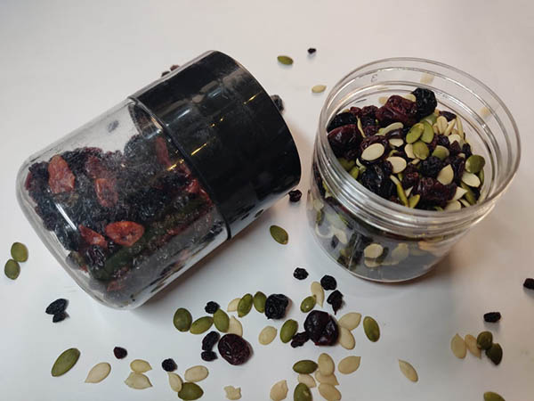 Seeds and Berry Sprinkle Jar