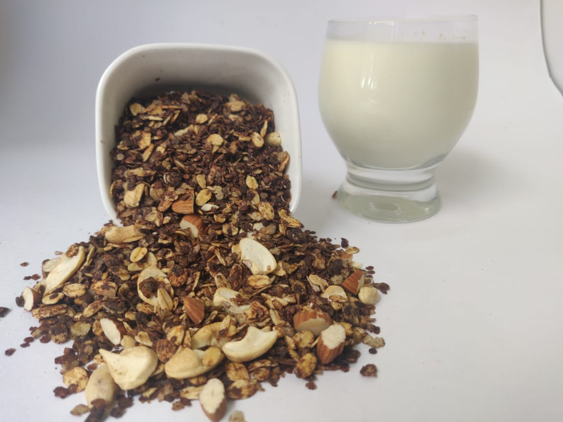 Multi Millets - Almond Chocolate Granola