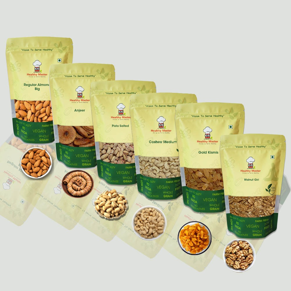 Dry Fruits Combo Pack